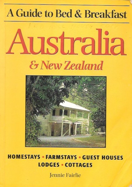 Front cover of B&B book